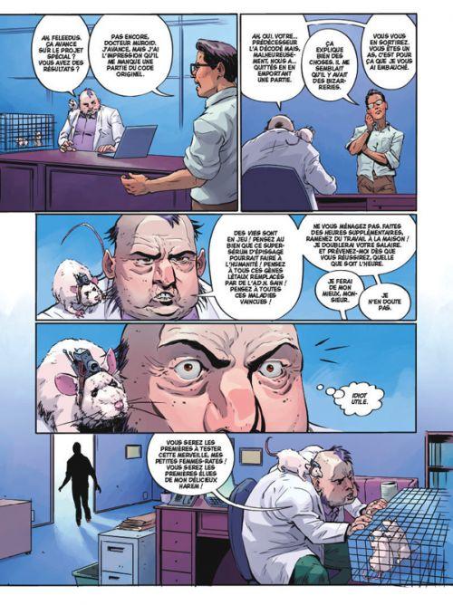Angel Catbird T1 : Métamorphose (0), comics chez Glénat de Atwood, Christmas, Bonvillain