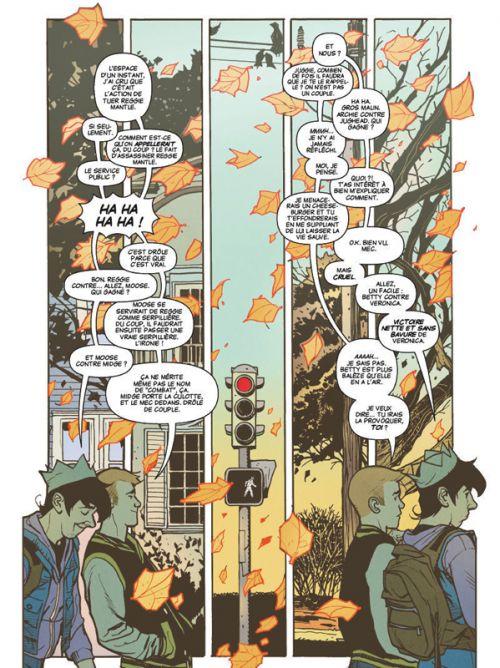 Riverdale présente... T1 : Betty et Veronica (0), comics chez Glénat de Hugues, Villarrubia