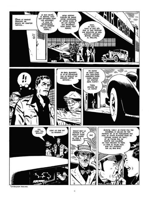 Bravo pour l'aventure, comics chez Paquet de Toth, Alquier