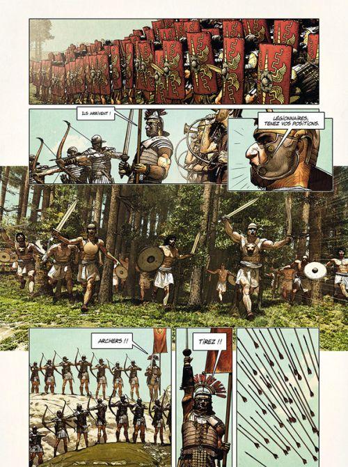 L'Homme de l'année T14 : Homme de l'année T14. L'homme qui vaincu les légions de Rome (0), bd chez Delcourt de Pécau, Fafner