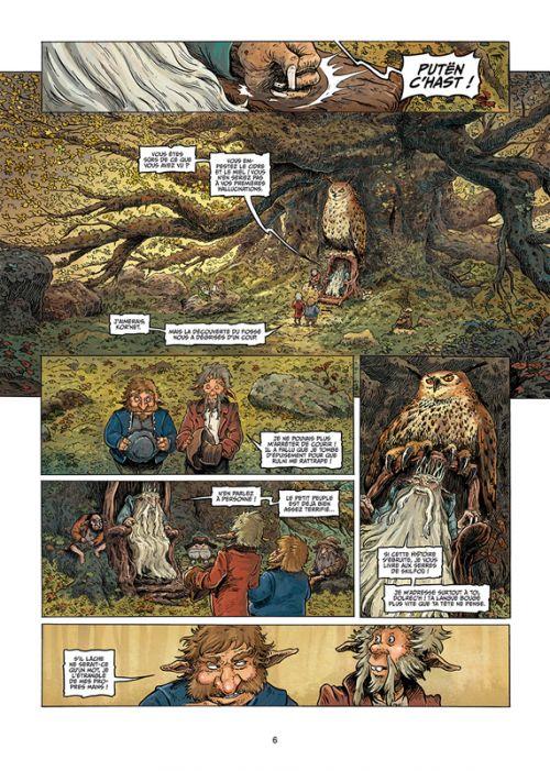 Brocéliande T5 : Le miroir aux fées (0), bd chez Soleil de Cordurié, Gomes, Marquebreucq, Jacquemoire
