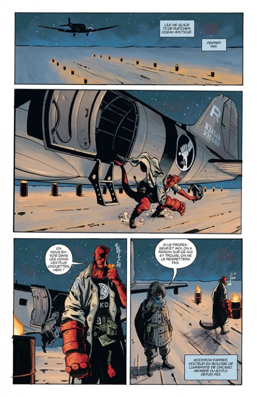 Hellboy & B.P.R.D. T3 : 1954 (0), comics chez Delcourt de Roberson, Mignola, Green, Churilla, Corben, Reynolds, Stewart