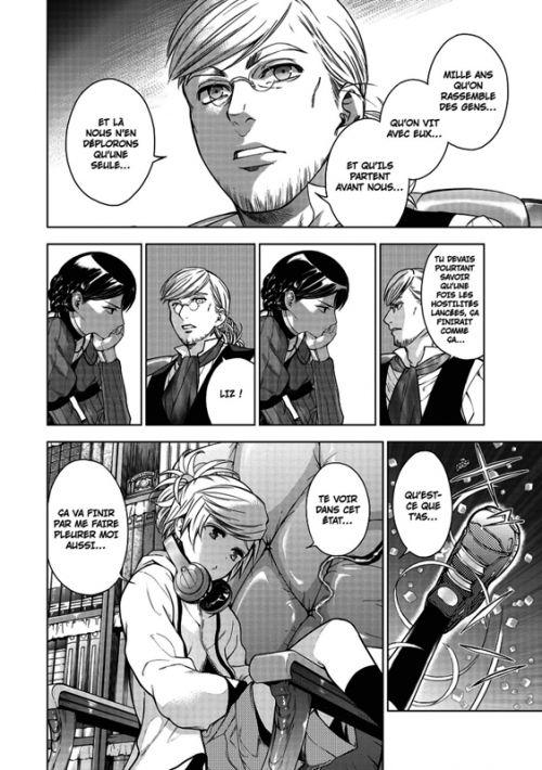 7th garden T6, manga chez Delcourt Tonkam de Izumi