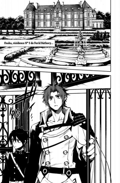 Seraph of the end  T14, manga chez Kana de Kagami, Yamamoto