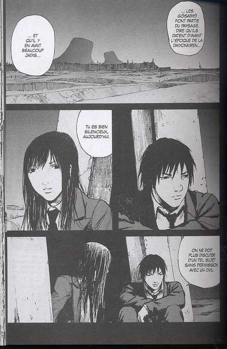 Abara T2, manga chez Glénat de Nihei