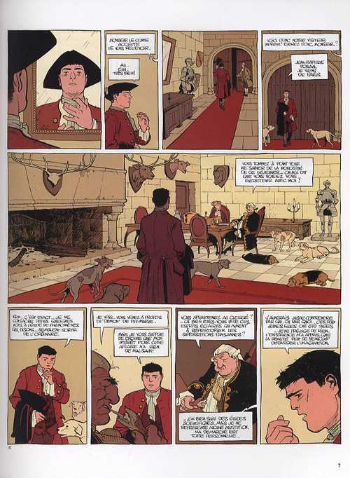 Le marquis d'Anaon T2 : La vierge noire (0), bd chez Dargaud de Vehlmann, Bonhomme, Delf