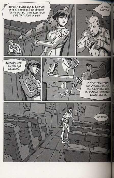 L'escouade des ombres T1 : Sanction (0), manga chez Les Humanoïdes Associés de Nikolavitch, Shong