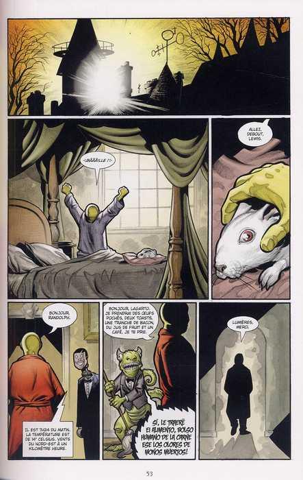 The Goon T4 : Vertus et petits meurtres (0), comics chez Delcourt de Powell