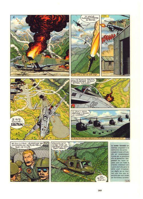 Buck Danny T13 : 1993-1999 - Les secrets de la mer noire ; L'escadrille fantôme ; Zone interdite ; Tonnerre sur la Cordillère (0), bd chez Dupuis de de Douhet, Bergèse