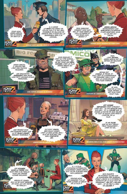 Green Arrow Rebirth T3 : Hors-la-loi (0), comics chez Urban Comics de Percy, Rodriguez, Vasquez, Ferreyra, Carlini, Schmidt, Hi-fi colour