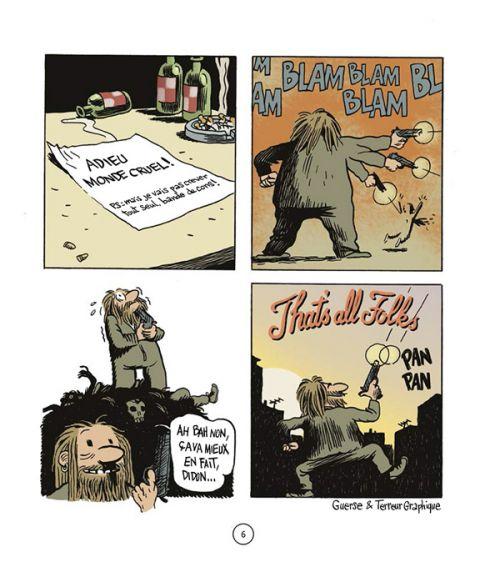Pan ! T'es mort !, bd chez Delcourt de Terreur Graphique, Guerse
