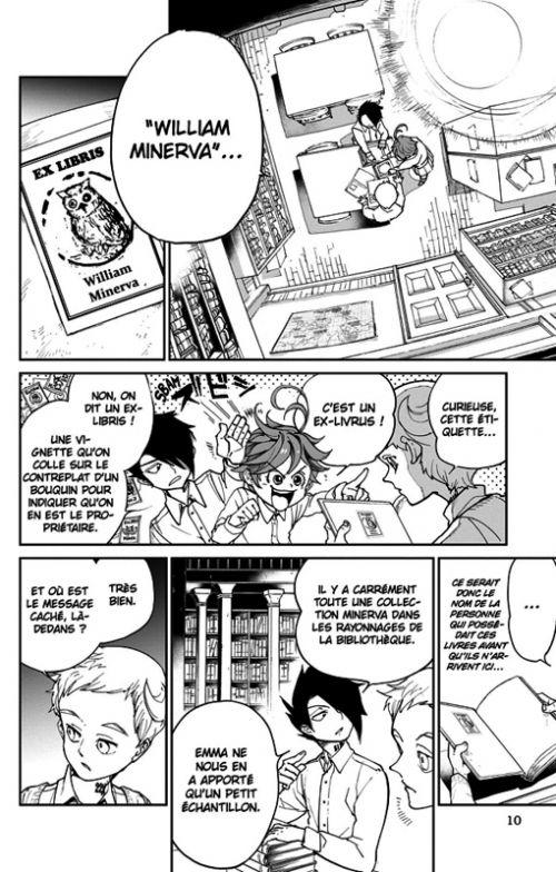 The promised neverland T3, manga chez Kazé manga de Shirai, Demizu