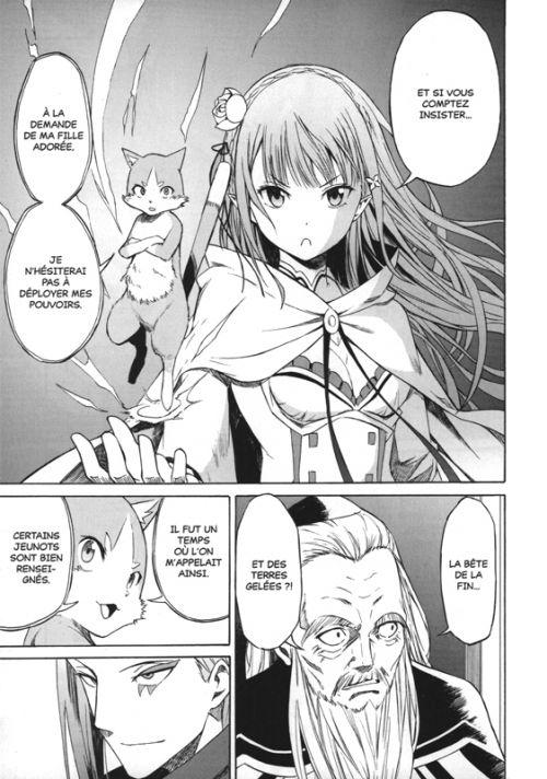 Re:Zero – 3e arc Truth of zero, T2, manga chez Ototo de Nagatsuki, Matsuse