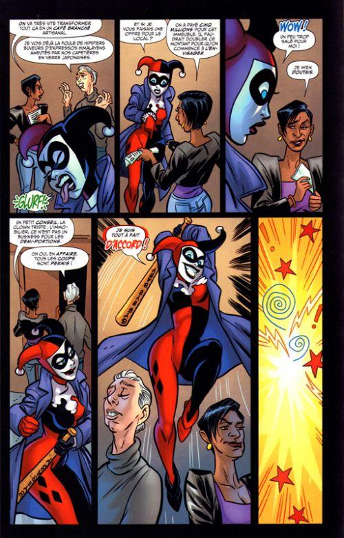 Harley Quinn Rebirth T3 : Le futur contre-attaque (0), comics chez Urban Comics de Conner, Dini, Palmiotti, Evans, Blevins, Timms, Linsner, Skipper, Sinclair