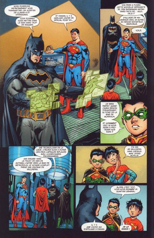Super Sons T2 : La planète des songes (0), comics chez Urban Comics de Tomasi, Jimenez, Di Giandomenico, Hi-fi colour, Plascencia