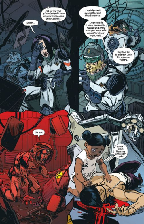 Letter 44 T6 : La fin (0), comics chez Glénat de Soule, Aja, Jackson, Stern
