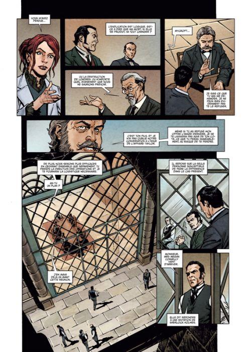 Sherlock Holmes Society T6 : Le champs des possibles (0), bd chez Soleil de Cordurié, Fattori, Gonzalbo