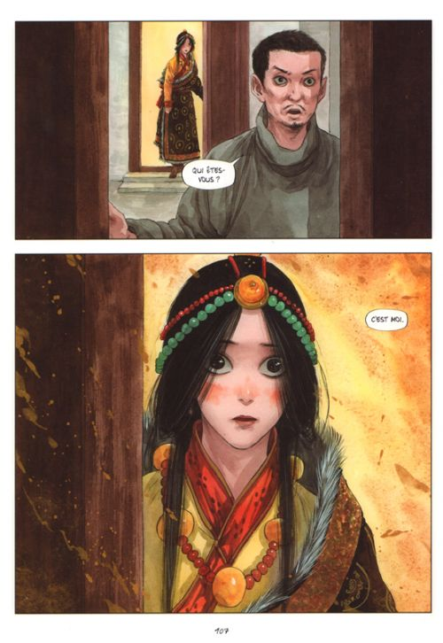 Le sixième Dalaï-Lama  T3, manga chez Les Editions Fei de Qiang, Ze