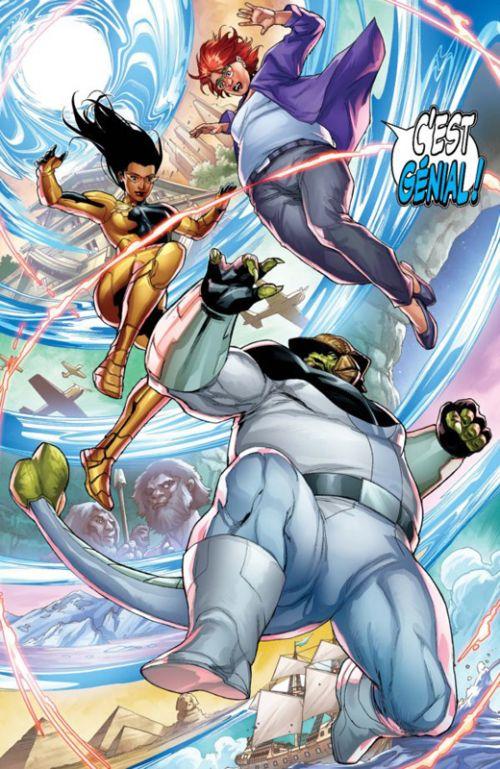 Faith et la future force : Faith et la future force (0), comics chez Bliss Comics de Houser, Segovia, Bernard, Nord, Castro, Thies, Kitson, Arreola, Kano