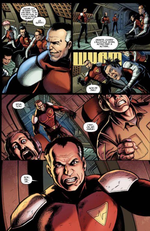 Harbinger Renegade T2 : Massacre (0), comics chez Bliss Comics de Roberts, Juan Jose Ryp, Robertson, Dalhouse, Rodriguez