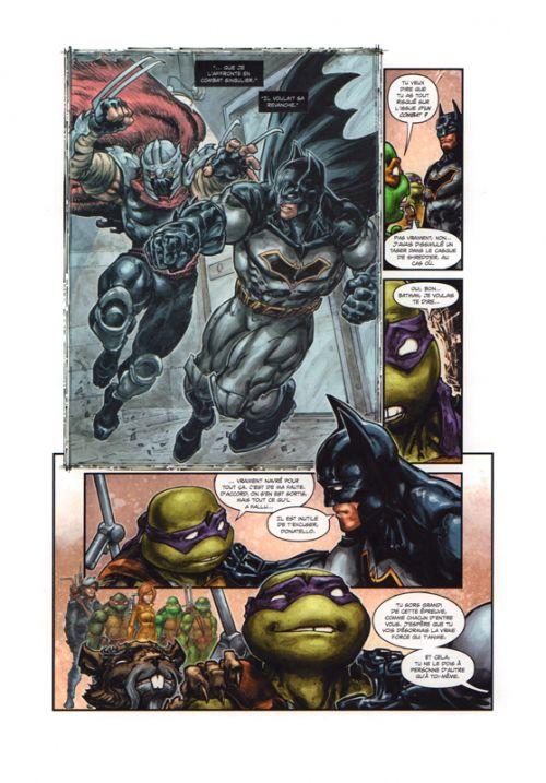 Batman et les Tortues Ninjas  T2 : Venin sur l'Hudson (0), comics chez Urban Comics de Tynion IV, Ferrier, Williams II, Colwell