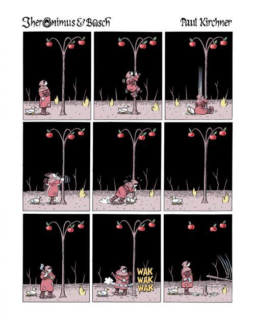 Jheronimus & Bosch, comics chez Tanibis de Kirchner