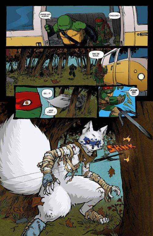 Les Tortues Ninja - TMNT - Teenage Mutant Ninja Turtles T4 : Northampton (0), comics chez Hi Comics de Waltz, Curnow, Eastman, Campbell, Pattison