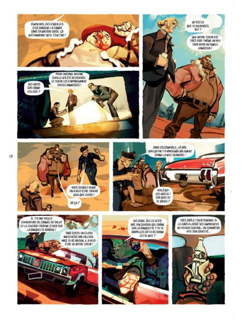 Ava Granger T1 : Commando Commanda (0), bd chez Les éditions du Long Bec de Mercier, Colosimo