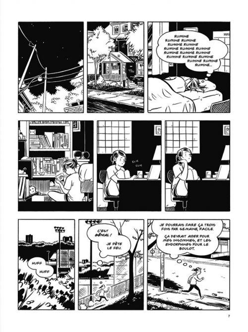 Ce que font les gens normaux, comics chez Dargaud de Lin