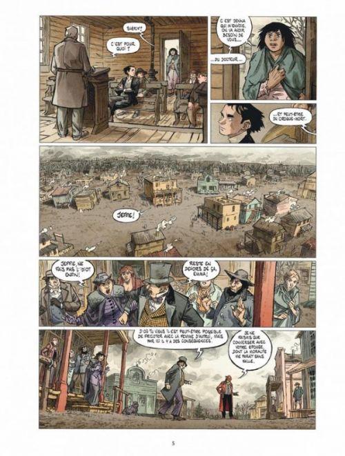 Stern T3 : L'ouest, le vrai (0), bd chez Dargaud de Maffre, Maffre, Durandelle, Oburie, Lavaud, Durandelle