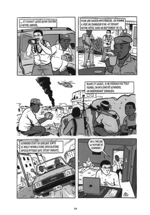 War is boring : Correspondant de guerre (0), comics chez Steinkis de Axe, Bors
