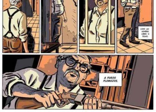 Le Vieil homme et les narcos, bd chez Nouveau Monde de Vilbor, Vento