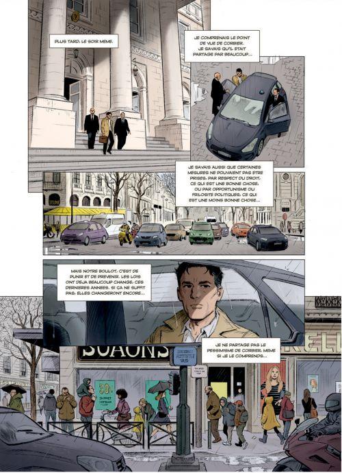 Compte à rebours T2 : Le piège de verre (0), bd chez Rue de Sèvres de Matz, Trévidic, Liotti, Bouchard