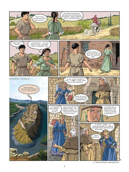 Les aigles décapitées T29 : Retour à Crozenc (0), bd chez Glénat de Pierret, Thiry, Caryn, Pierret