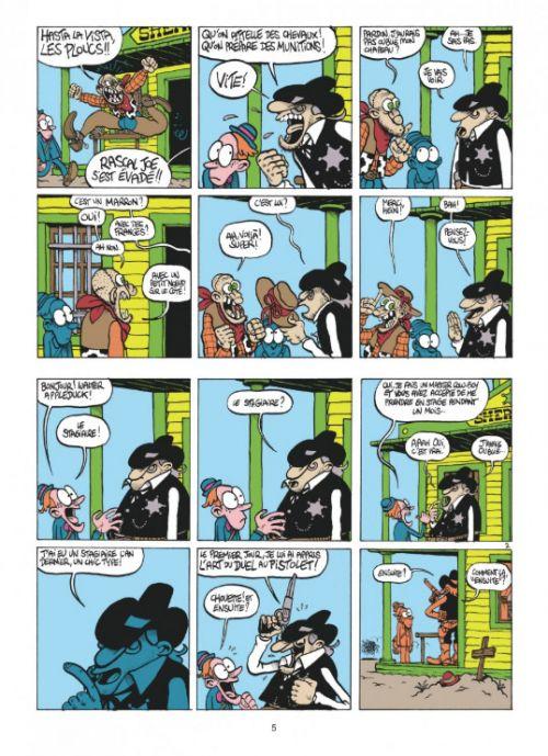 Walter Appleduck T1 : Stagiaire Cowboy (0), bd chez Dupuis de Fabcaro, Erre, Greff