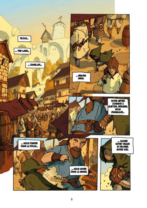 Voro T1 : Le secret des trois rois - première partie (0), bd chez Casterman de Kukkonen, Bazot