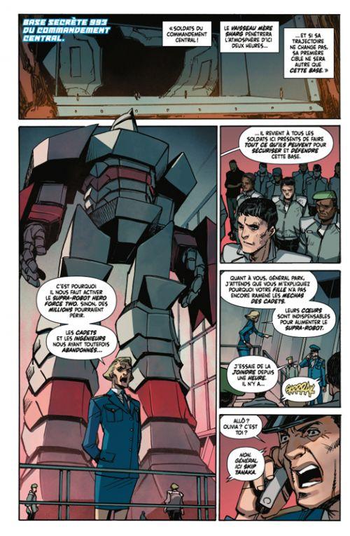 Mech academy T3, comics chez Casterman de Pak, Miyazawa, Kholinne