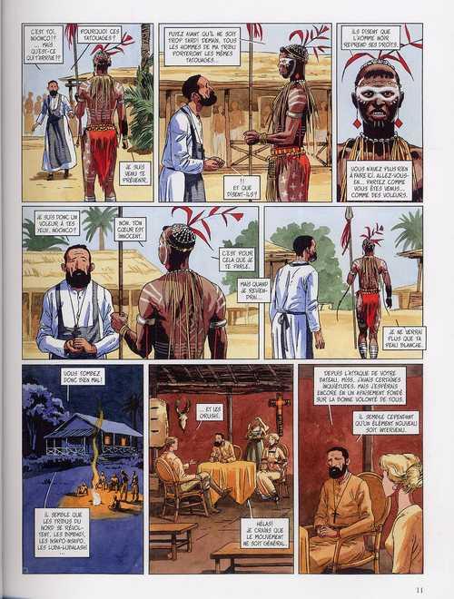 Djinn – cycle 2 : Africa, T7 : Pipiktu (0), bd chez Dargaud de Dufaux, Miralles