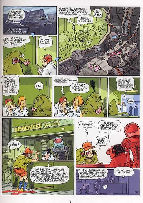 Une aventure de Pad Bowlman T1 : Space Vaudeville (0), bd chez La sirène de Mo/CDM