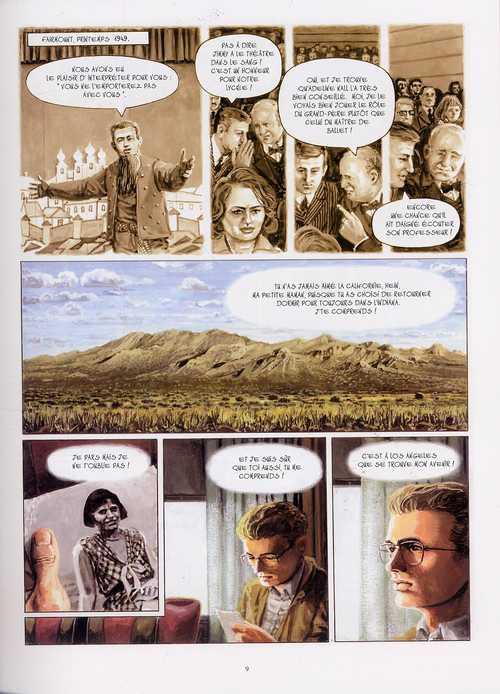Rebelles T6 : Jimmy - James Dean (0), bd chez Casterman de Charles, Charles, Gamberini
