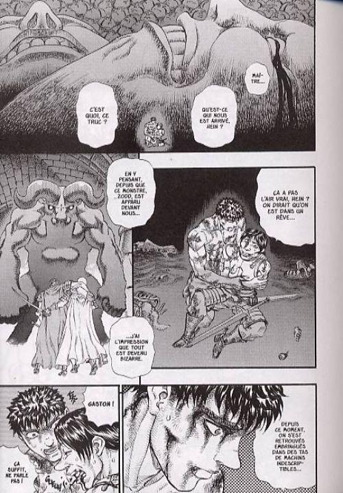 Berserk T13, manga chez Glénat de Miura