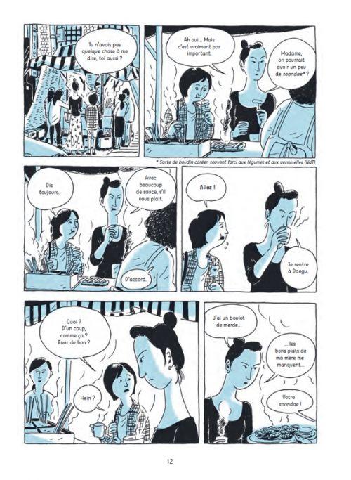 Deux femmes, manga chez Çà et là de Song