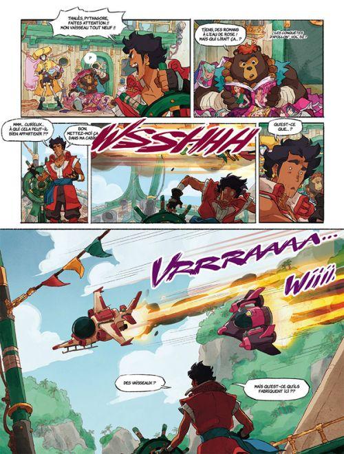 Perséus T1 : La Vengeance de Médusa (0), bd chez Delcourt de Thiên-Thanh, Ah-Koon, Ettori