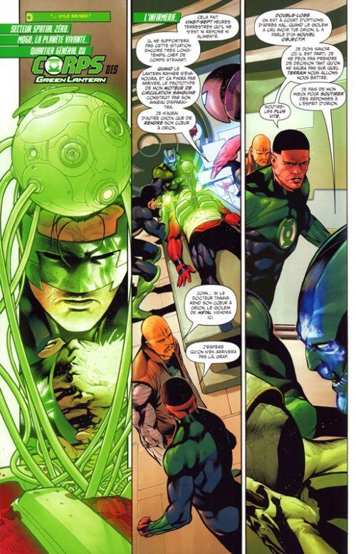 Green Lantern Rebirth T4 : Fracture (0), comics chez Urban Comics de Venditti, Zircher, Sandoval, Van sciver, Wright, Morey