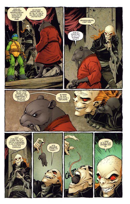 Les Tortues Ninja - TMNT - Teenage Mutant Ninja Turtles T5 : Les fous, les monstres et les marginaux (0), comics chez Hi Comics de Curnow, Waltz, Eastman, Smith, Santolouco, Henderson, Torres, Pattison