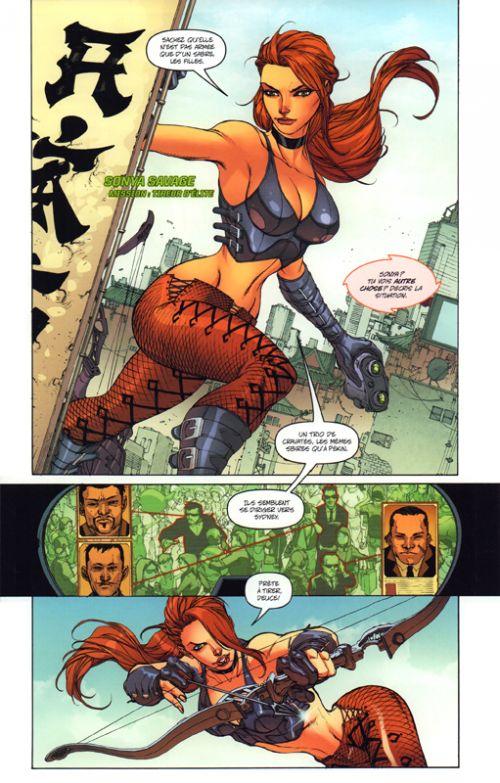 Danger girl : Tric-traque à Shanghaï (0), comics chez Graph Zeppelin de Hartnell, Tolibao, Fajardo Jr, Campbell