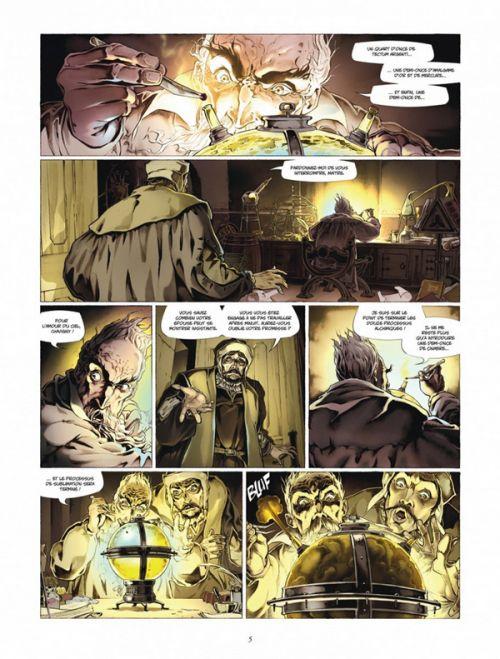 Arthus Trivium T4 : L'armée invisible (0), bd chez Dargaud de Raule, Hernandez