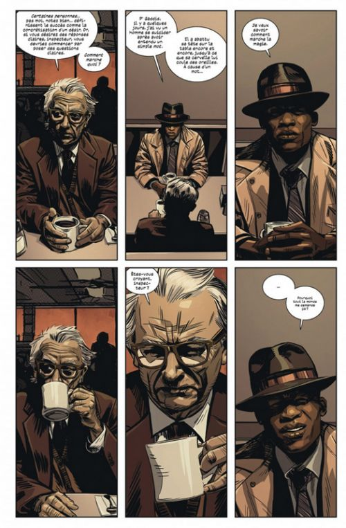 Black Monday Murders T2 : Une livre de chair (0), comics chez Urban Comics de Hickman, Coker, Garland