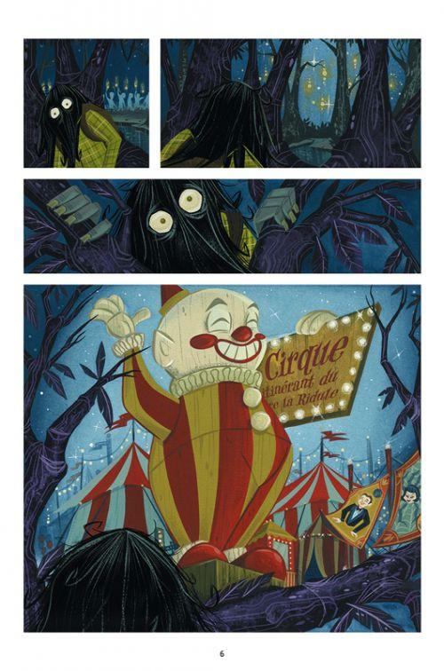 Chimichanga T2 : La tristesse du pire visage du monde (0), comics chez Delcourt de Powell, Buscema