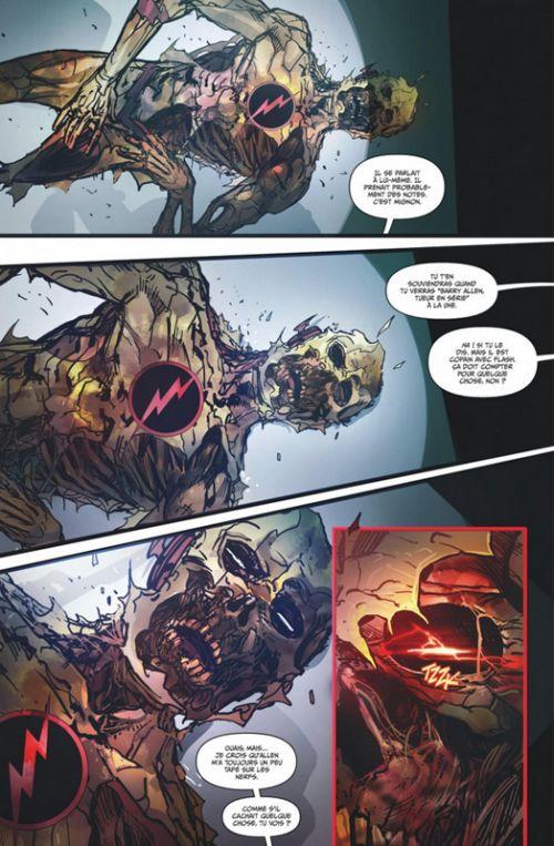 Flash Rebirth T4 : La peur au ventre (0), comics chez Urban Comics de Williamson, Sook, Porter, Duce, Pelletier, Vazquez, Pop , Di Giandomenico, Googe, Plascencia, McCaig, Hi-fi colour